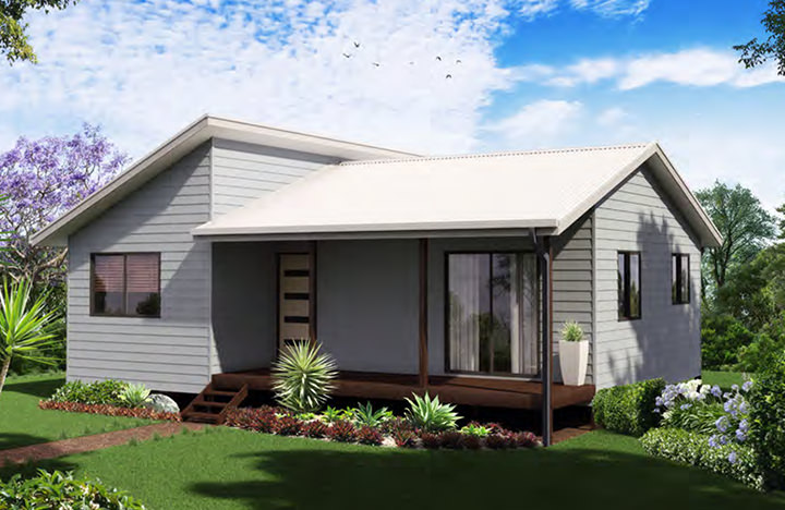 Two bedroom for Home designs newcastle nsw