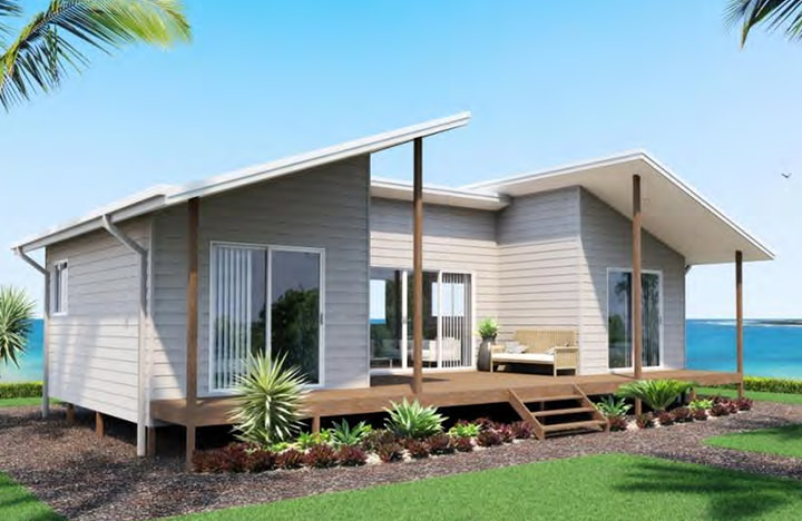 Two bedroom for Holiday home designs victoria