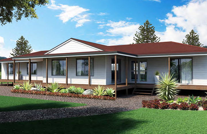 Four bedroom for Home designs brisbane