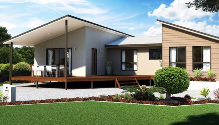 Steel kit frame homes brisbane qld brisbane kit home for New home designs brisbane