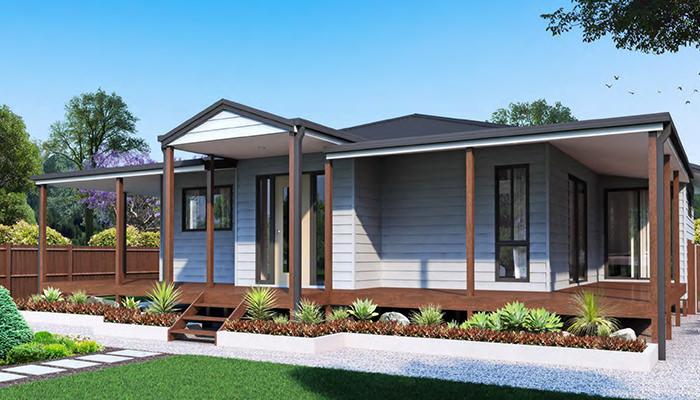 Affordable home building kits the usa eco friendly prefab for Modular granny flat california